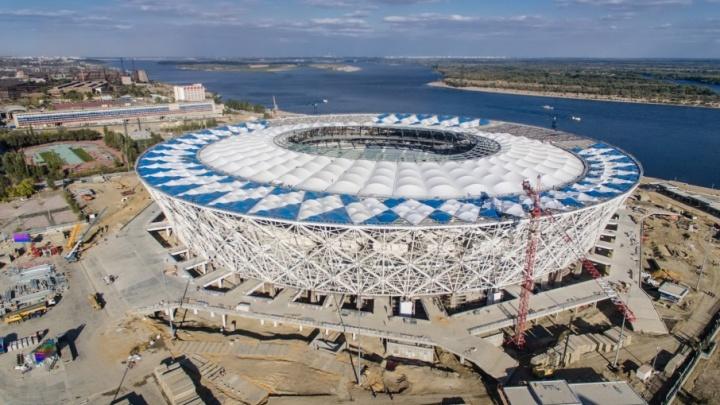 Над стадионом «Волгоград Арена» расширили запретную зону