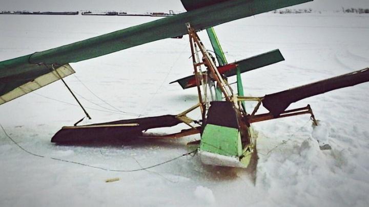 Под Тобольском рухнул самодельный самолет