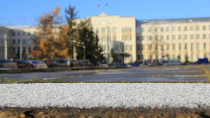 Небольшой снегопад ожидает жителей Поморья на выходных