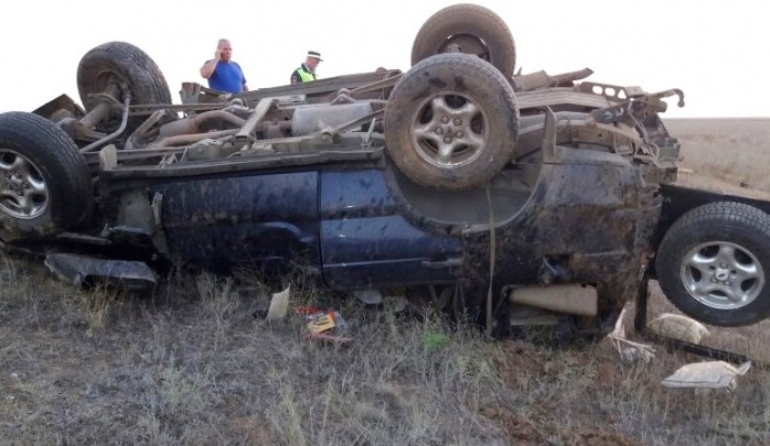 На трассе под Астраханью погиб 41-летний владелец Land Rover из Волгограда