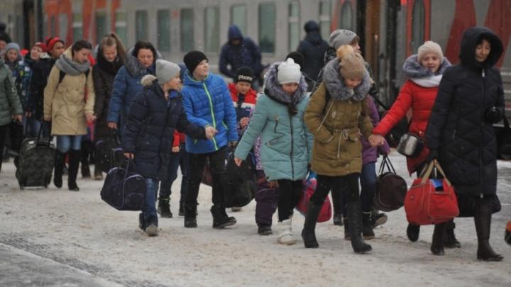 Детей из Ярославля по просьбе Путина отправили на ёлку в Москву