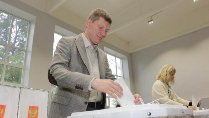 Максим Решетников набрал 82% голосов на выборах губернатора Прикамья