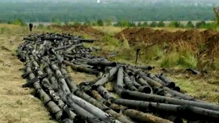 Сотрудники ФСБ поймали под Сызранью банду, которая пыталась похитить нефтепровод