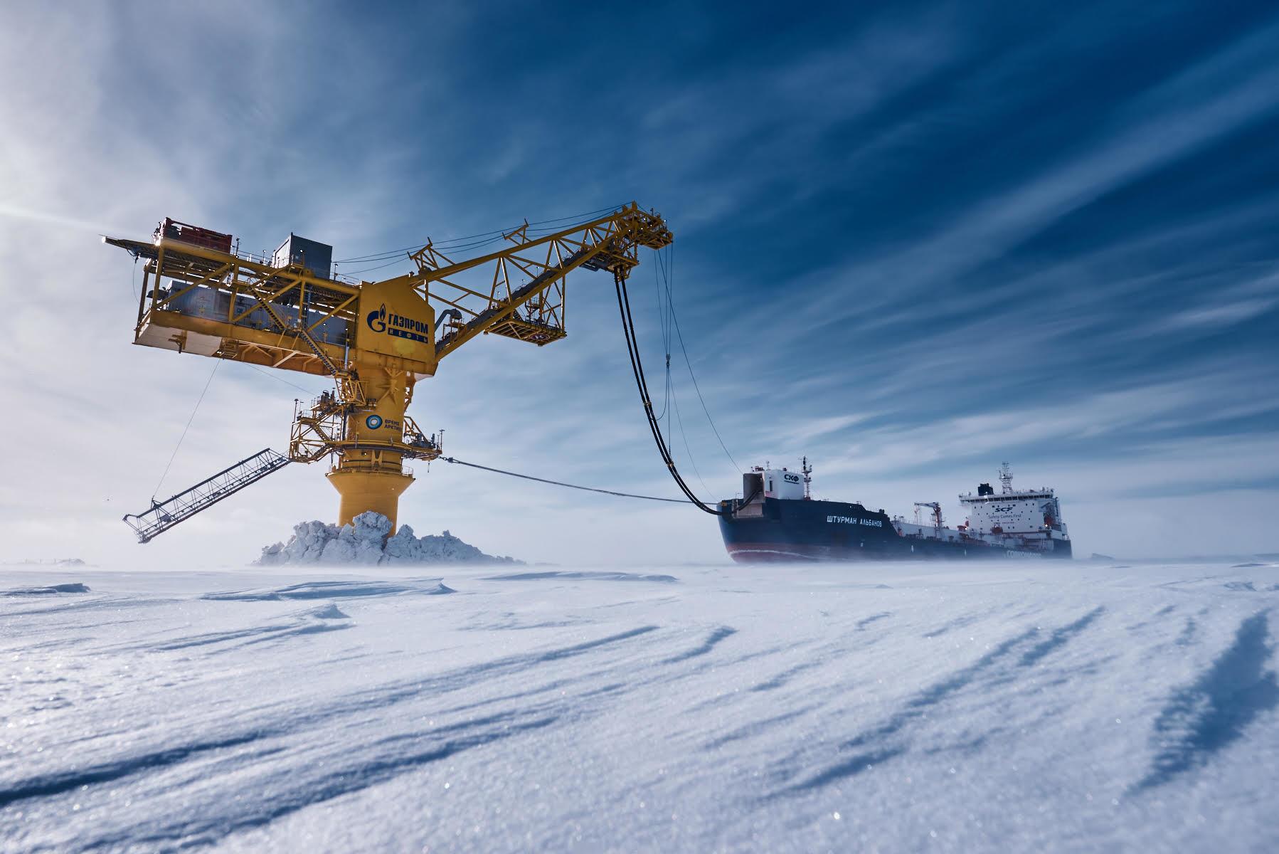 Зимняя отгрузка нефти
