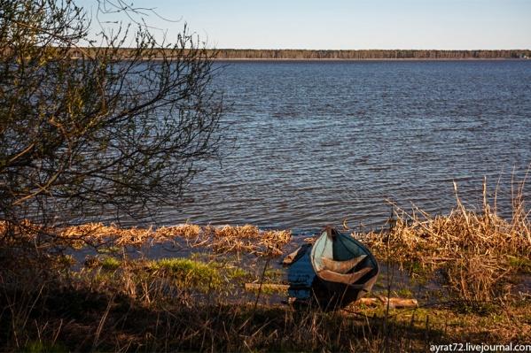 Фото было сделано у Сингульского озера