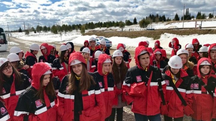 Сто российских старшеклассников посетили производственные объекты пермских нефтяников
