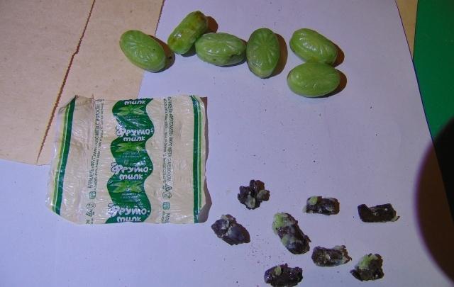 В плесецкую колонию прислали конфеты с начинкой из гашиша