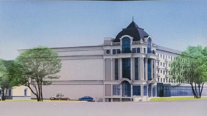 К пятиэтажке в центре Челябинска пристроят офисное здание с подземной парковкой