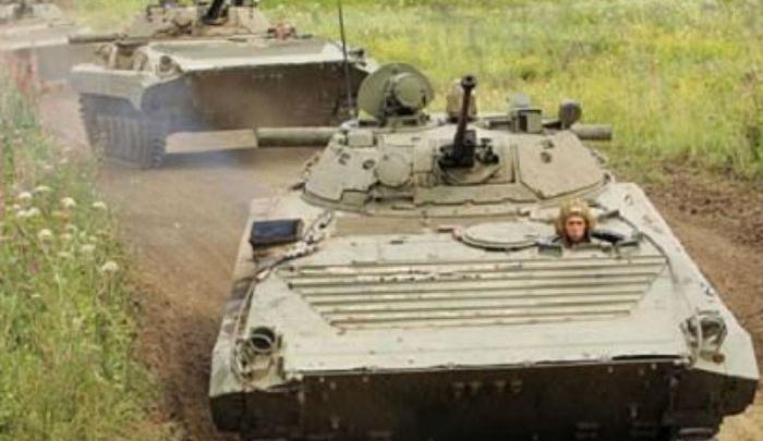 Чеченские  танкисты приехали в Ростовскую область на учения