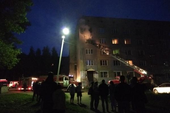 Пожар в Красноперекопском районе