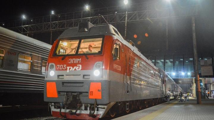 Двухэтажный поезд с кондиционерами запустили по маршруту Ростов–Адлер