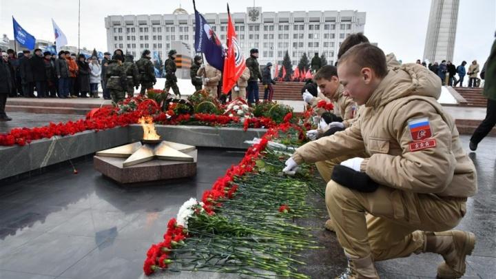 Во имя преемственности поколений: в Самаре почтили героев Сталинграда