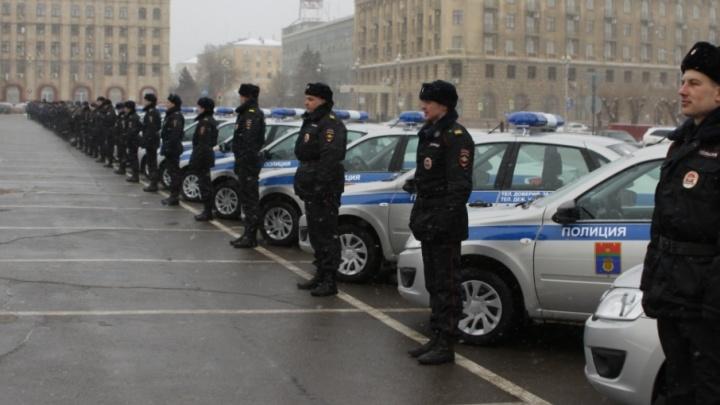 Полицейские Волгограда получили 50 новых машин для ЧМ-2018