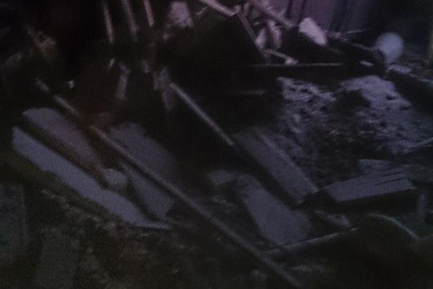 В доме на севере Волгограда обрушился потолок
