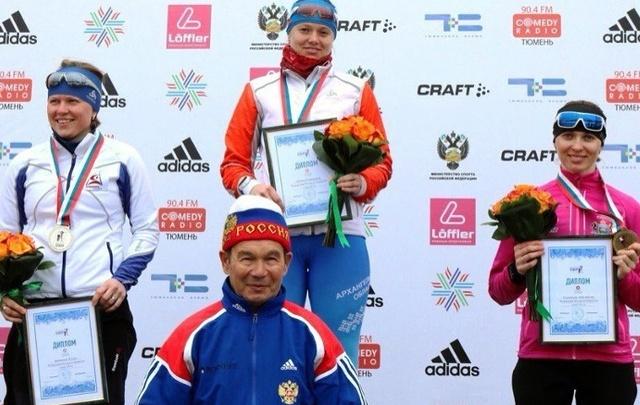 Екатерина Зубова завоевала золото на чемпионате России по биатлону