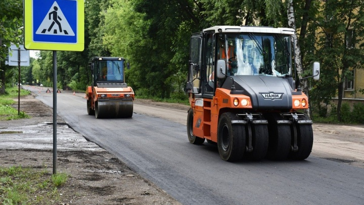 Московского подрядчика уличили в халтурном ремонте дороги в Ярославле