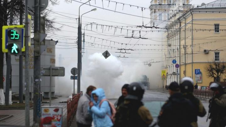 В центре Ярославля прозвучал взрыв: подробности с места