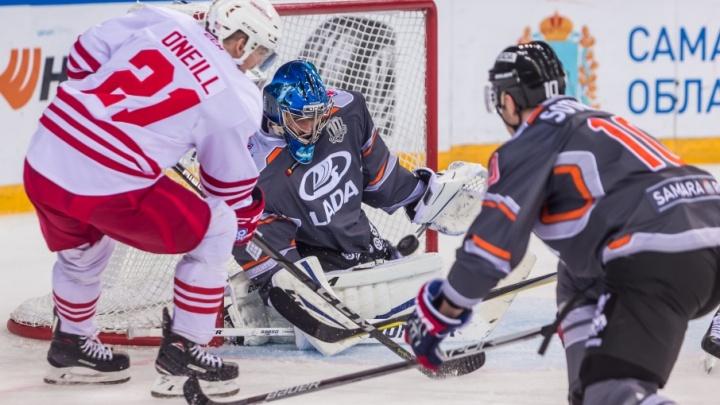 Хоккейная «Лада» всухую проиграла финскому «Йокериту»