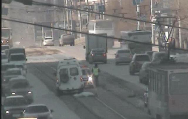 В Перми из-за смертельного ДТП остановлено трамвайное движение по Северной дамбе