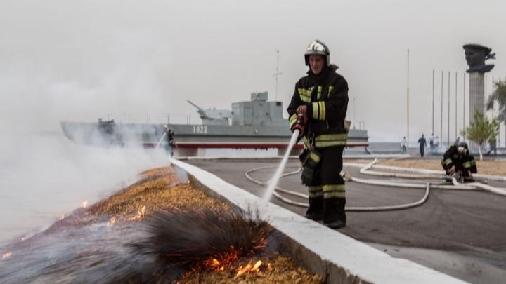 Музей «Сталинградская битва» подсчитывает ущерб от пожара у бронекатера БК-13