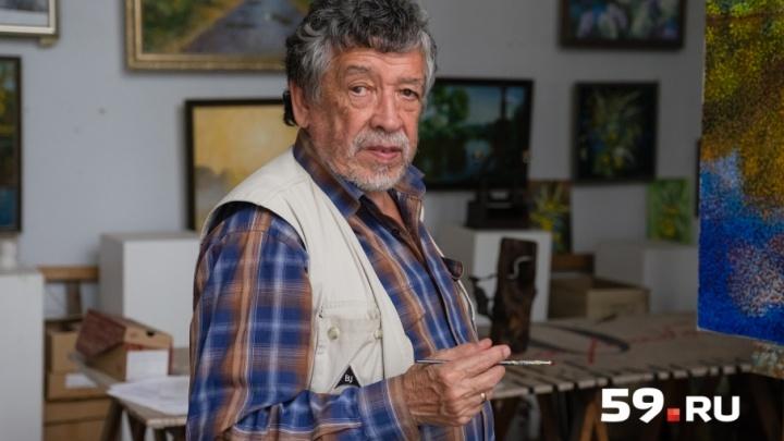 Мастерские пермских художников: в гостях у противника «культурной революции» Равиля Исмагилова