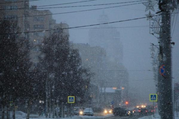 Снегопад к середине недели ожидается во всех районах Поморья