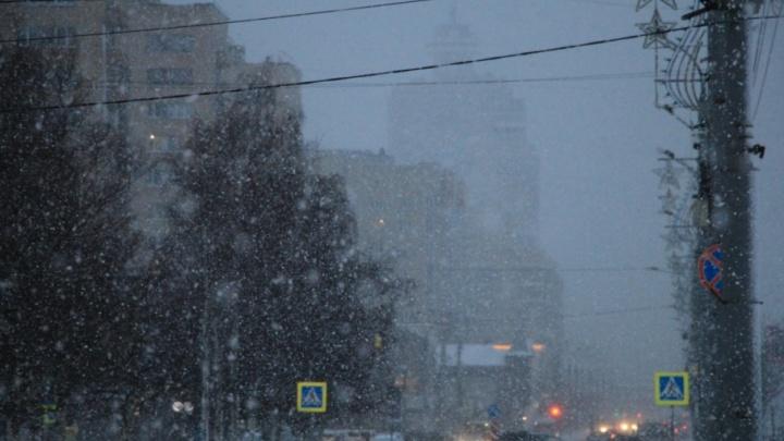 В четверг на севере Архангельской области пройдет сильный снег