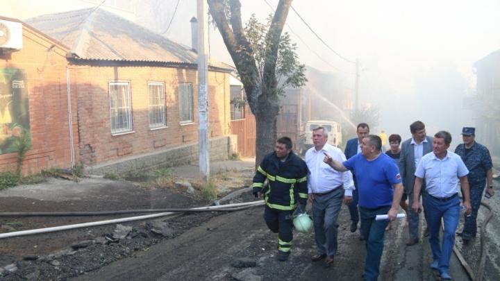 Губернатор предложил не застраивать квартал, где произошел пожар