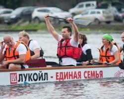 Пермские нефтяники стали лидерами заплывов на «Драконах»
