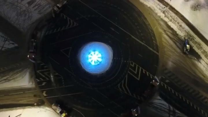 В Ярославле в хороводе закружились снегоуборочные машины
