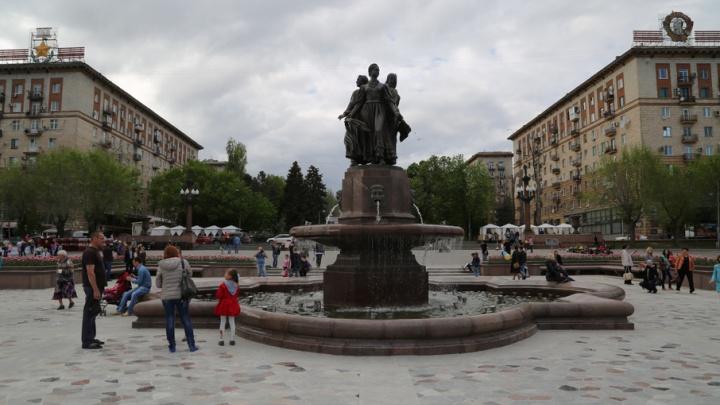 Волгоградцам бесплатно покажут у фонтана на набережной «Легенду №17»
