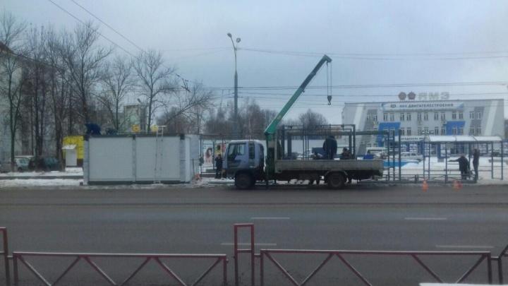«Просим потерпеть»: когда в Ярославле поставят все новые остановки