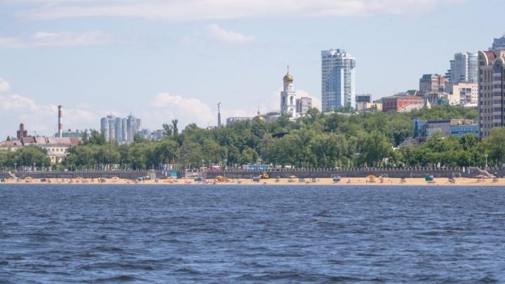 В Самарской области вода в Волге прогрелась до рекордных показателей