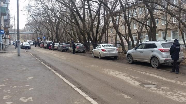 В Перми полиция оцепила лицей № 10