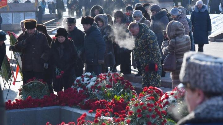 «Душу отдали Родине»: в Самаре почтили память защитников Отечества