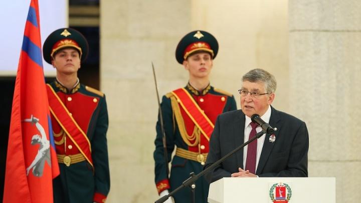 Экс-ректор ВГСПУ Николай Сергеев стал почетным гражданином Волгоградской области