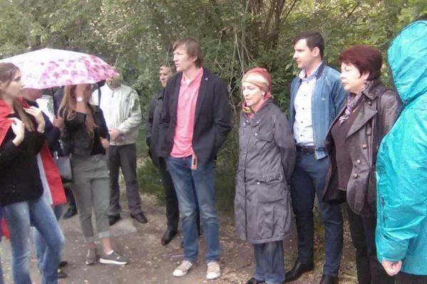 Впервые дольщики «Династии» вышли на митинг весной этого года