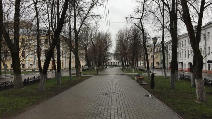 Ярославль становится лучше, когда в нем нет машин и людей