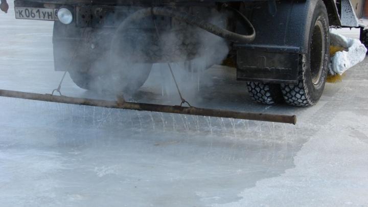 В челябинских дворах залили 14 хоккейных кортов