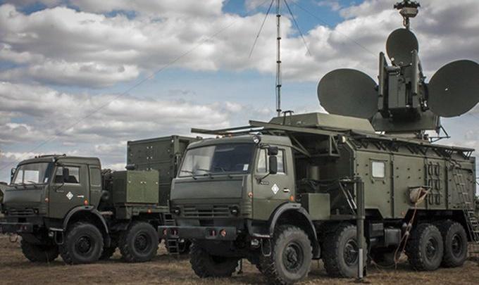 В Волгоградскую область поступил КАМАЗ для радиоэлектронной борьбы
