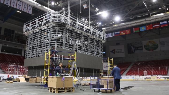 Как в НХЛ: новый видеокуб в арене «Трактор» будет самым большим в России