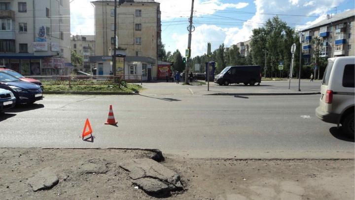 В Северодвинске водитель иномарки сбил 8-летнюю девочку