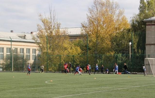 В Волгограде начались игры сезона школьной футбольной лиги