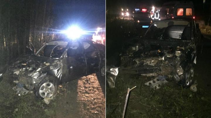 На трассе Кунгур–Соликамск в аварии пострадали два человека