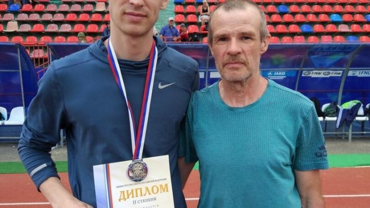 Легкоатлет Иван Супрун завоевал серебро на чемпионате России
