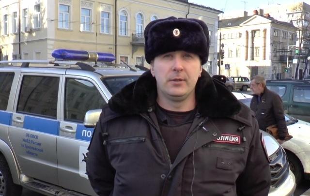 Ярославские полицейские спасли целую семью из пожара в доме