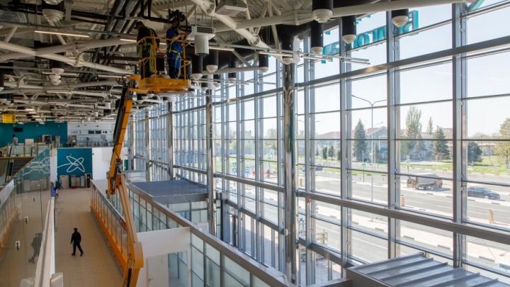 В международном аэропорту Волгограда открывают новый терминал