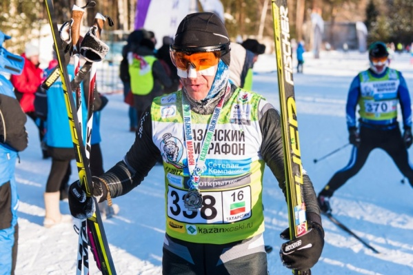 Станислав занимается лыжами с детства