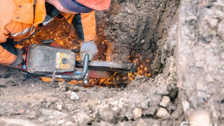 Уточненная информация: холодную воду отключат на Мехзаводе и в «Новой Самаре»