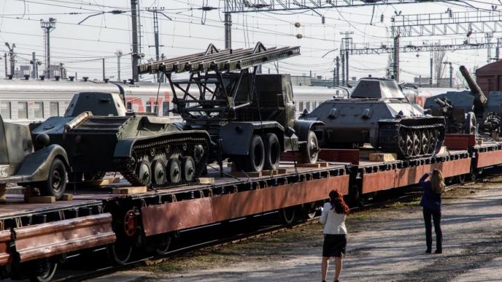В Волгоград после большого турне возвращается уникальный «Воинский эшелон»